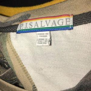 "PJ Salvage Intimates & Sleepwear - Sz L P.J. Salvage ""kind is cool"" camo set. NWOT"